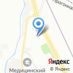 Магазин автозапчастей для Ford на карте Санкт-Петербурга