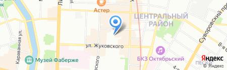 Дентал АВ на карте Санкт-Петербурга