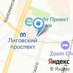 Ред Смарт на карте Санкт-Петербурга