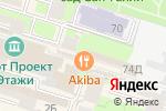 Схема проезда до компании Такояки-Ятай в Санкт-Петербурге