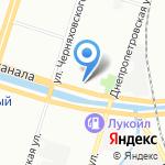 Тип-Топ на карте Санкт-Петербурга