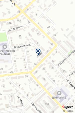 АПТЕКА № 8 на карте Белгорода