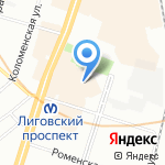 Laser B. на карте Санкт-Петербурга