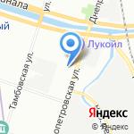 ЛИРА ГРАНД на карте Санкт-Петербурга
