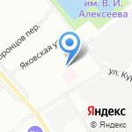 Ферри Рус на карте Санкт-Петербурга