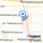 Ленстрой-Ол на карте Санкт-Петербурга