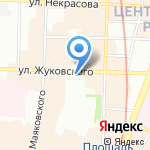 Бизе на карте Санкт-Петербурга