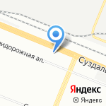 Колорит на карте Санкт-Петербурга