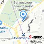 Технологическое бюро по подшипникам на карте Санкт-Петербурга