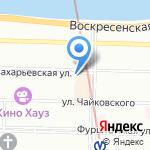 Русское оружие СПб на карте Санкт-Петербурга