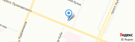 Ультра-Прогресс на карте Санкт-Петербурга