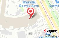 Схема проезда до компании Комильфо в Санкт-Петербурге