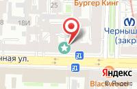 Схема проезда до компании Антенна Коммуникейшнз в Санкт-Петербурге