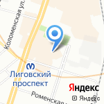 ЕРМАК-СПб на карте Санкт-Петербурга