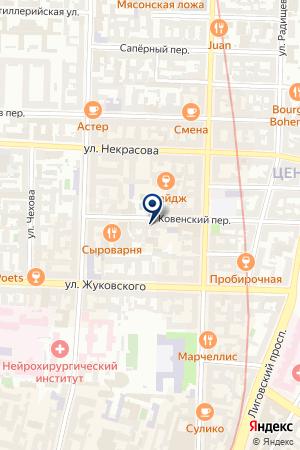 Северо-Западный Центр Лазерной Медицины на карте Санкт-Петербурга
