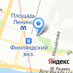 OrtoBalance на карте Санкт-Петербурга