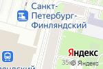Схема проезда до компании Bk в Санкт-Петербурге
