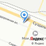 Spot на карте Санкт-Петербурга