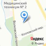 АУДИОТЕЛЕ на карте Санкт-Петербурга