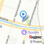 А8 на карте Санкт-Петербурга
