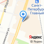 Магазин товаров для шитья и рукоделия на карте Санкт-Петербурга