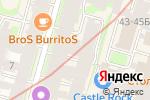 Схема проезда до компании Мегаполис-Консалтинг в Санкт-Петербурге