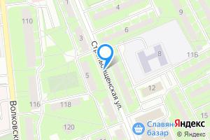 Сдается двухкомнатная квартира в Санкт-Петербурге ул Стрельбищенская