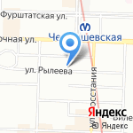 CINEMA на карте Санкт-Петербурга
