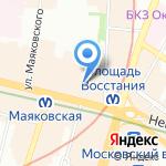 SotaSale.ru на карте Санкт-Петербурга