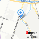 Строймеханизация на карте Санкт-Петербурга