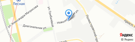 Мастер-Вуд на карте Санкт-Петербурга