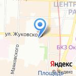 Жуковского 47 на карте Санкт-Петербурга