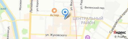 Logovo на карте Санкт-Петербурга