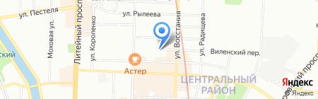 ЮрСтатус на карте Санкт-Петербурга