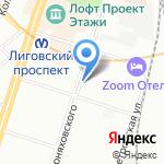 Севзапрыбвод на карте Санкт-Петербурга