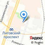 HLSTK на карте Санкт-Петербурга