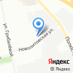 Альтер Вита на карте Санкт-Петербурга