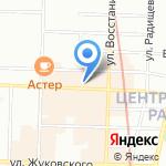 Торговый отдел на карте Санкт-Петербурга