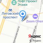 Urban Report на карте Санкт-Петербурга