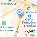 Психоаналитический кабинет на карте Санкт-Петербурга