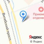 Слакс на карте Санкт-Петербурга