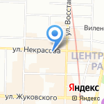 Престиж-Мастер на карте Санкт-Петербурга