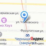 Ромео на карте Санкт-Петербурга