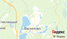 Гостиницы города Васкелово на карте