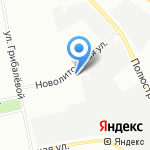 Россини+ на карте Санкт-Петербурга