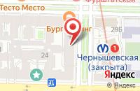 Схема проезда до компании Тф Бомон в Санкт-Петербурге