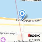 Хоневелл на карте Санкт-Петербурга