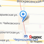CoffeeVarka на карте Санкт-Петербурга