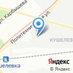 Беатон на карте Санкт-Петербурга