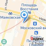 Home me на карте Санкт-Петербурга
